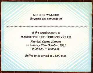INVITATION CARD FORMAT FOR INAUGURATION